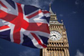 uk flag big ben