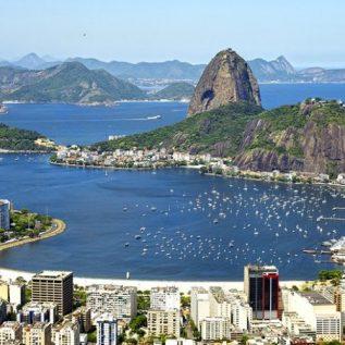 brazil rio de janeiro sugar loaf
