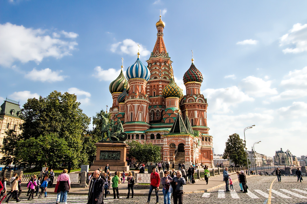 russia moscow cathedral