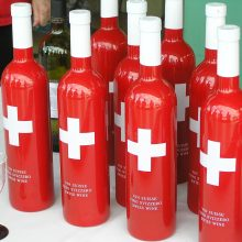 swiss wine bottles