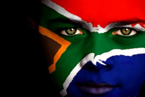 south africa face flag