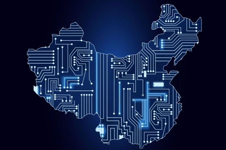 china digital map