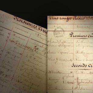 classement vin 1855 bordeaux crus